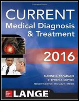 Current Medical Diagnosis &Treatment (55th ed.)