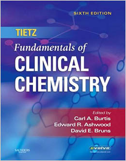 Tietz Fundamentals of Clinical Chemistry.