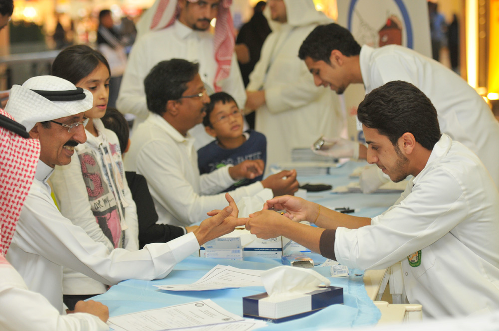 participation at the Diabetes Day