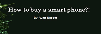How to buy a smart phone